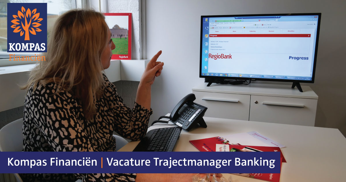 Vacature Trajectmanager Banking